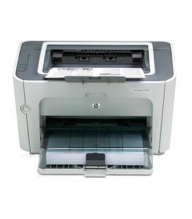 HP used εκτυπωτής LaserJet P1505N, laser, monochrome, με toner