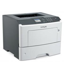 LEXMARK used Printer MS610DN, mono, laser, low toner & drum